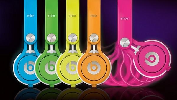 Dòng tai nghe màu sắc Neon Mixr