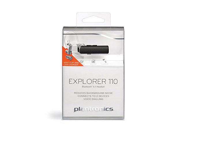 Bluetooth Plantronics Explorer 110 với chức năng chống ồn cao cấp khi tham gia giao thông